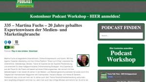 Martina Fuchs bei Toms Talk Time