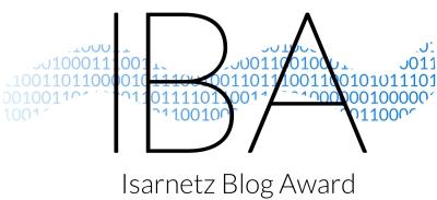 Isarnetz Blog Award für martina-fuchs.com