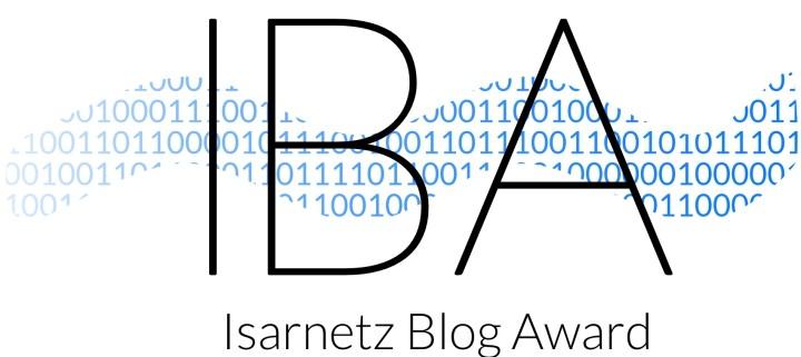Isarnetz Blog Award - martina-fuchs.com