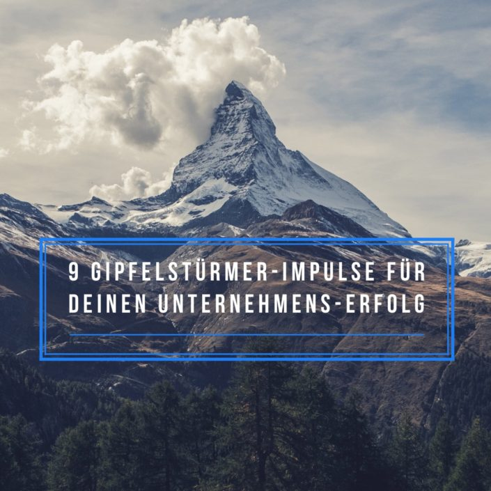 Martina Fuchs - 9 Gipfelstuermer-Impulse für den Unternehmens-Erfolg