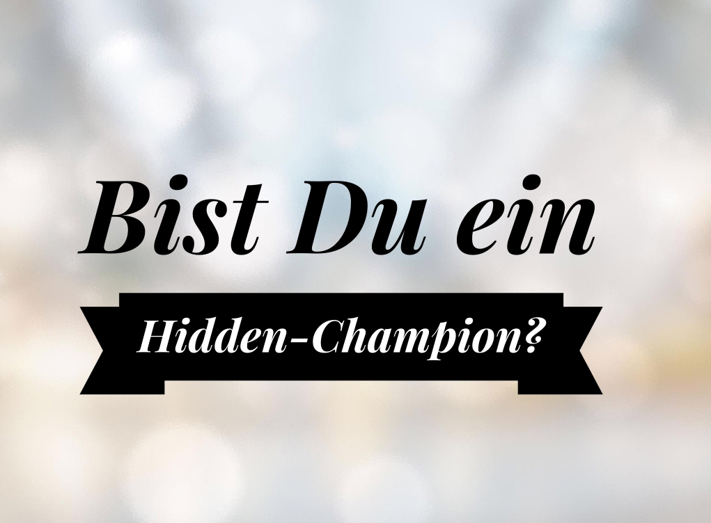 Martina Fuchs - Hidden Champion