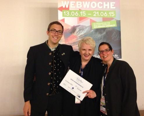 Martina Fuchs|Gewinnerin Isarnetz Blog Award | Bester Unternehmensblog