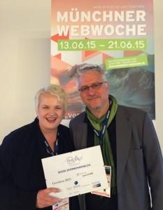 Martina Fuchs - Isarnetz Blog Award für den besten Unternehmensblog