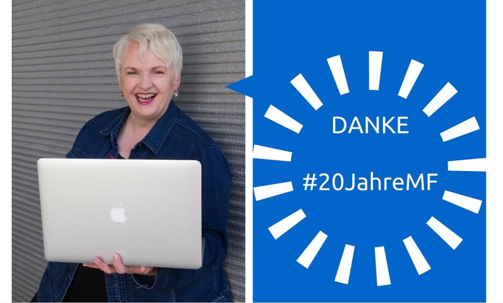 Danke 20 Jahre Martina Fuchs