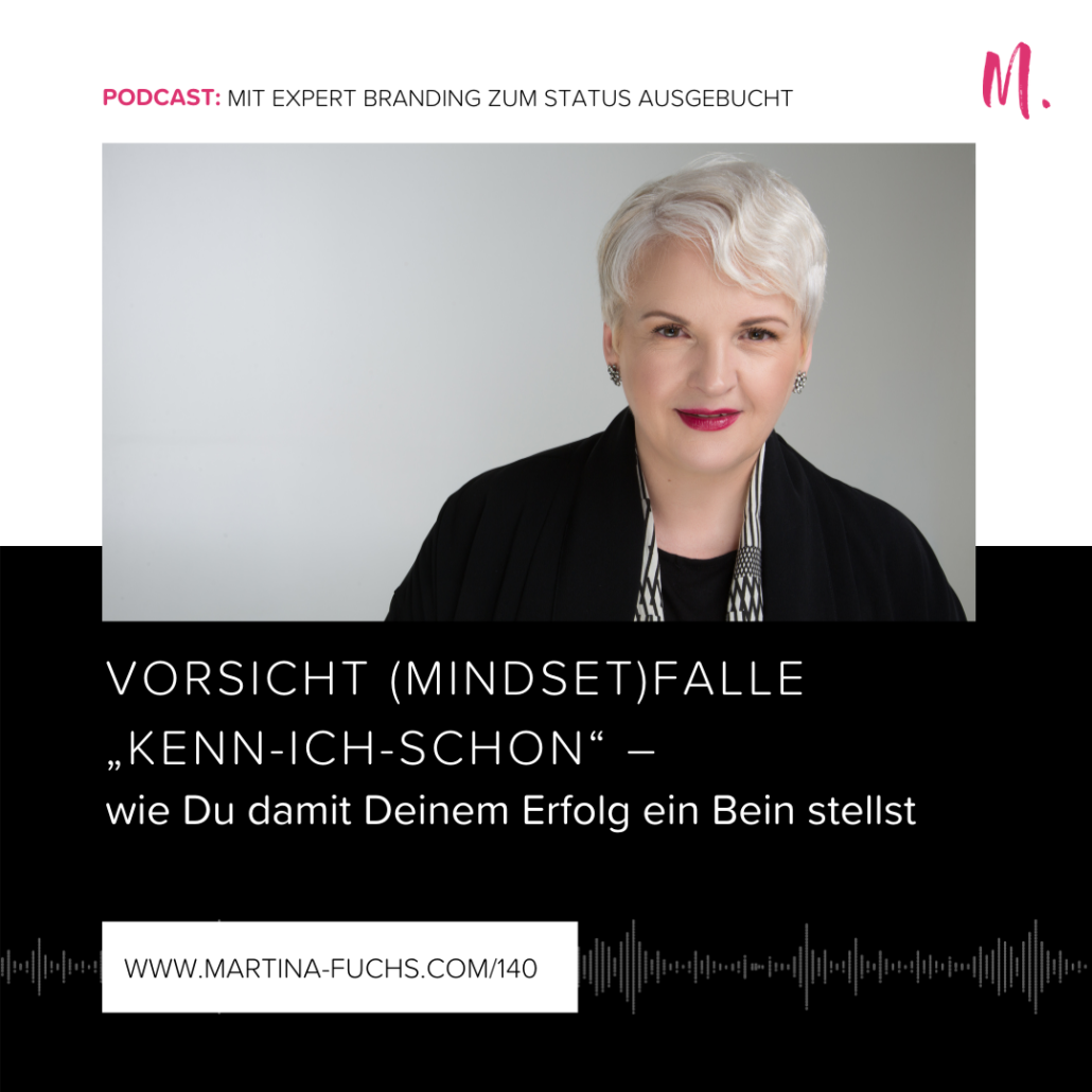 Mindsetfalle, Martina Fuchs, Expert Marke