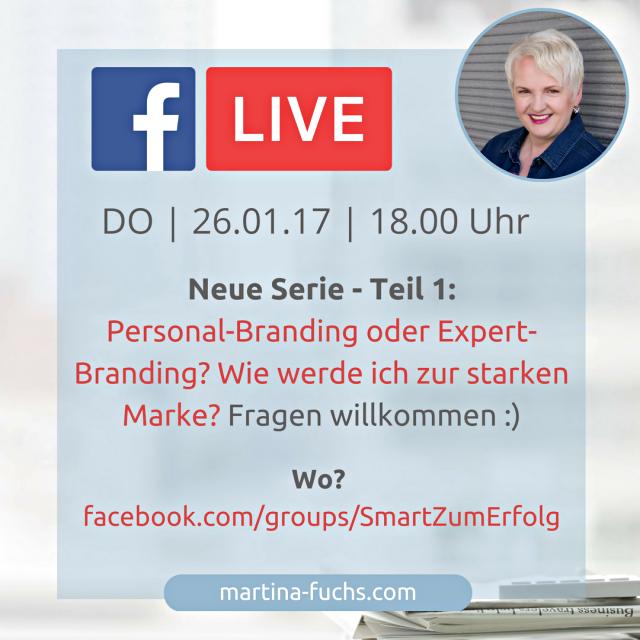 FB-Live Expert-Branding