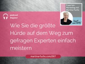 Martina-Fuchs-Erfolgsfaktoren-Expertenpositionierung-Mindset