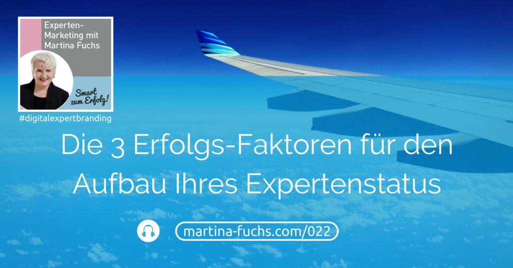 Aufbau-Expertenstatus-Podcast-Martina-Fuchs-Expert-Branding