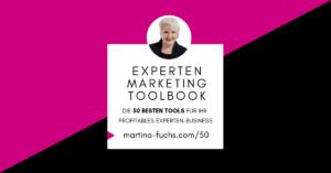 Expertenmarketing Toolbook-Tools-Anwendungen-Produktivitaet-Martina-Fuchs