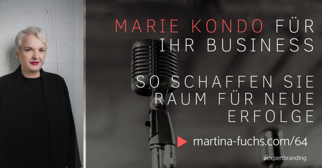 Marie-Kondo-Martina-Fuchs-Expert-Branding-Entrümpeln-Declutter-Organisation