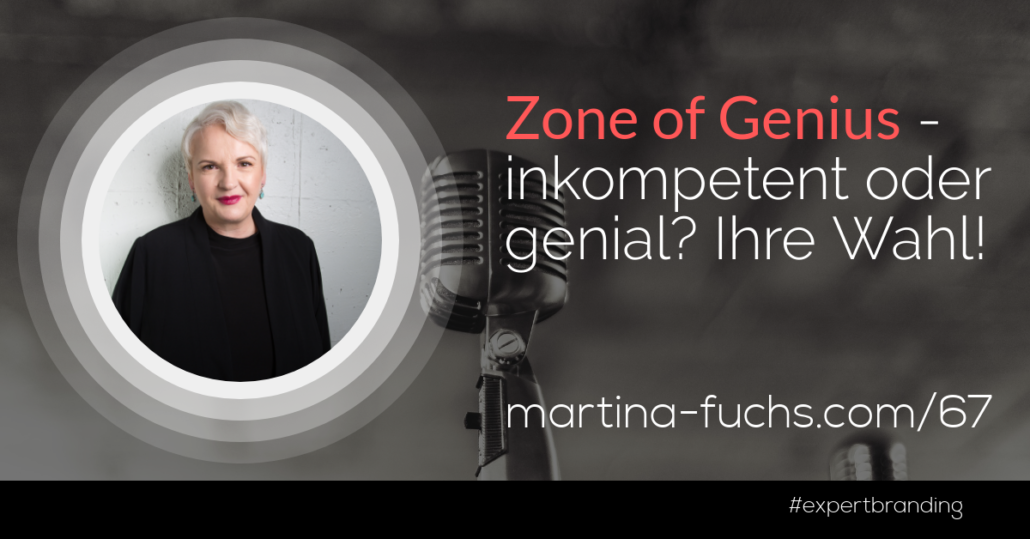 Zone of Genius-Martina Fuchs-Expert Branding