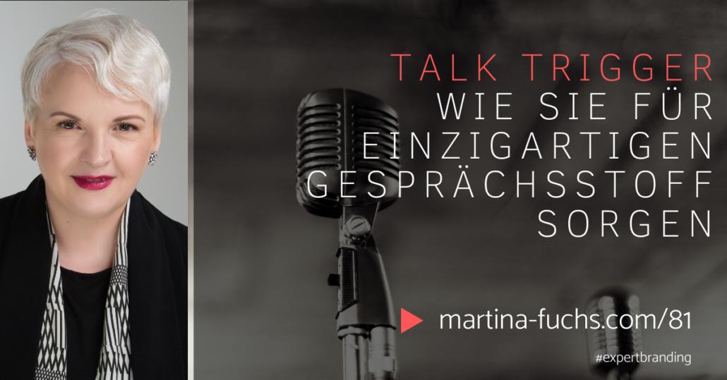 Talk Trigger-Martina Fuchs-Markenzeichen-Schlagzeile-Jay Baer