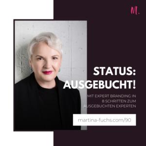 Status Ausgebucht-Ausgebucht-Martina Fuchs-Kunden gewinnen-Kundengewinnung