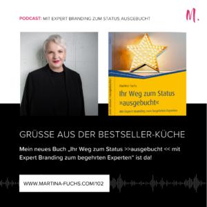 Martina Fuchs-Status Ausgebucht-Buch veröffentlichen