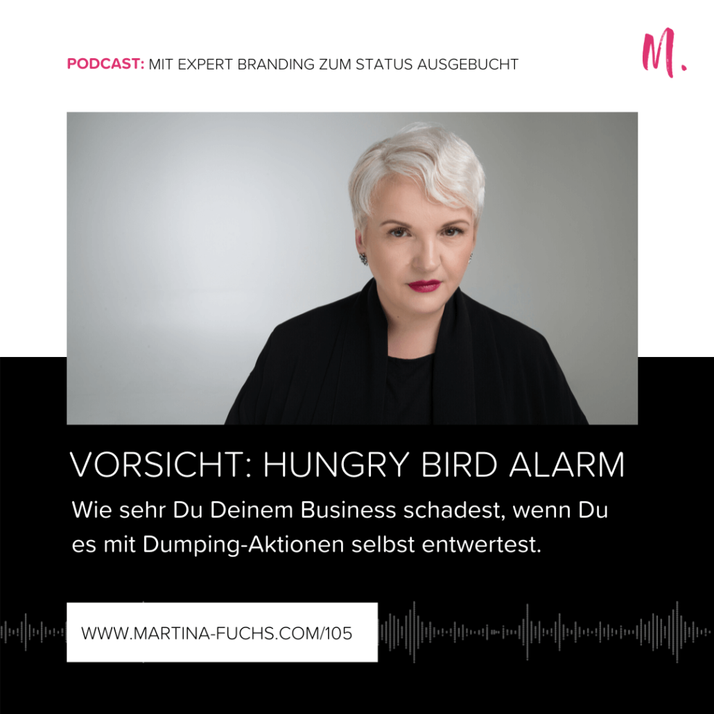 Hungry-Bird-Positionierung-Preisgestaltung-Honorar-Honorarsatz-Martina Fuchs