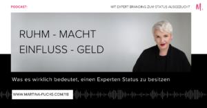 Martina Fuchs-Experten Status-Expertenstatus-Expertenpositionierung-Experten Marketing-Positionierung-Personal Branding-Expert Branding