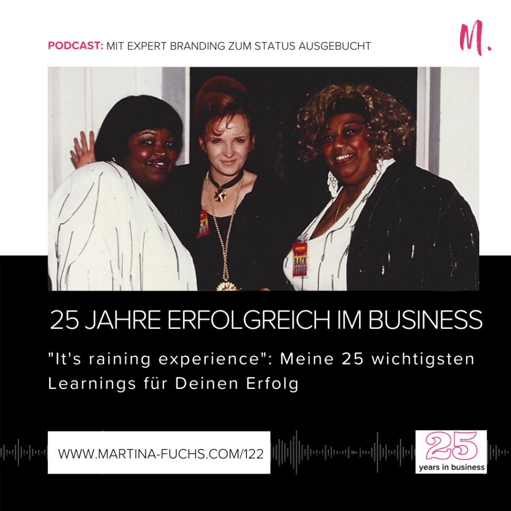 Martina Fuchs-25 Jahre-Firmen Jubilaeum-Expert Branding-Personal Branding-Martina Fuchs Muenchen-Positionierung-Experten Positionierung