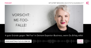 Stand out-Stand out of the crowd-Martina Fuchs-USP-Alleinstellung-Me Too-Unique Selling Proposition-Experten Positionierung-Expert Branding