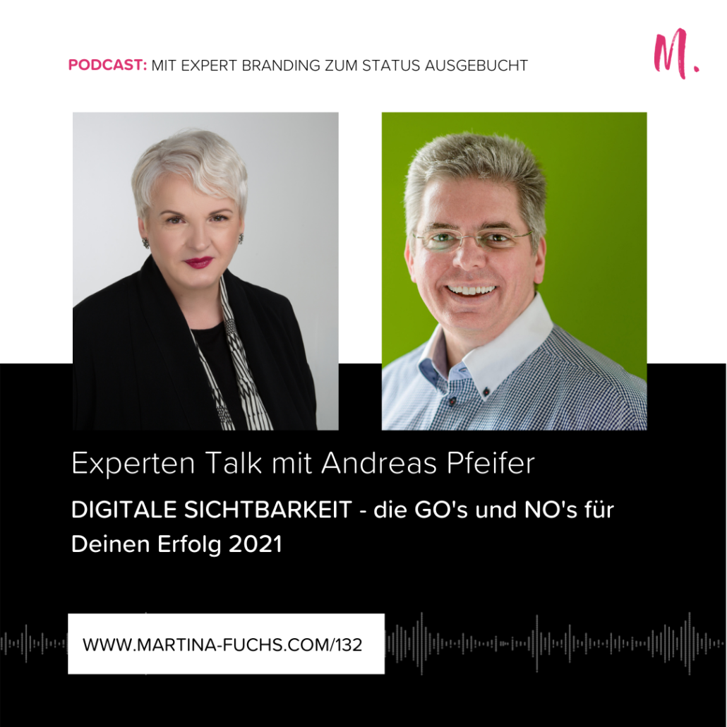 Digitale Sichtbarkeit, Martina Fuchs, Expertenstatus, Expert Branding, Digitales Marketing