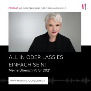 Jahresmotto, Martina Fuchs, Erfolg2021,