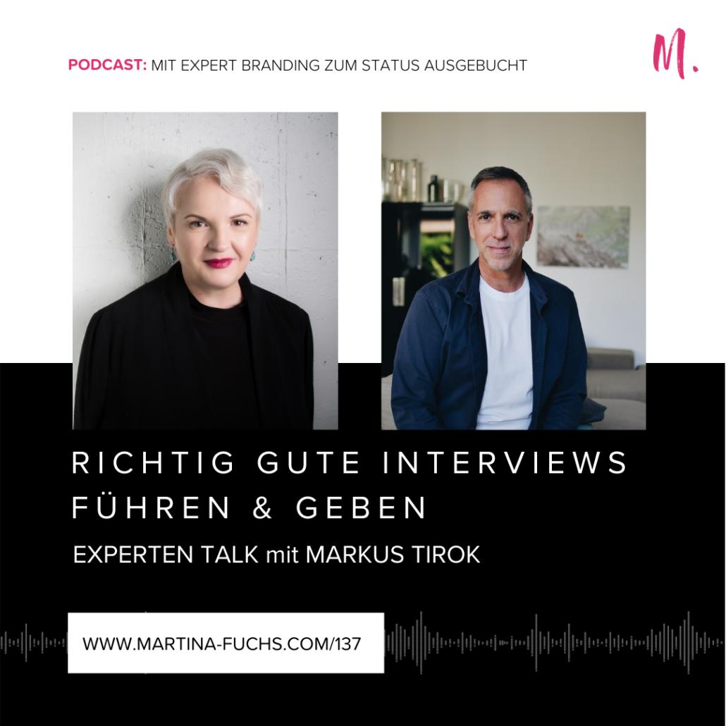 Martina Fuchs, Interview fuehren, Expertbranding