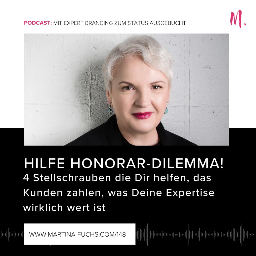 Honorar Dilemma, Martina Fuchs,