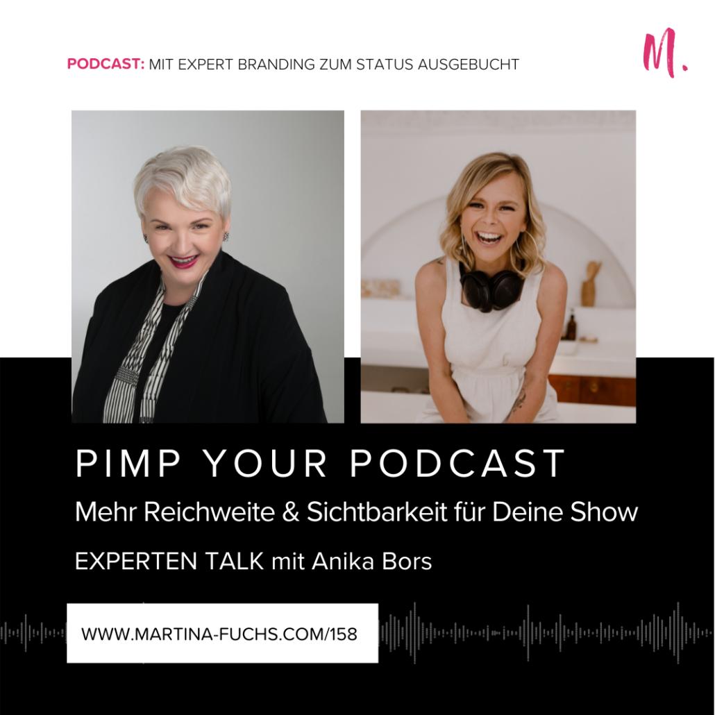 Reichweite steigern, Martina Fuchs, Podcast