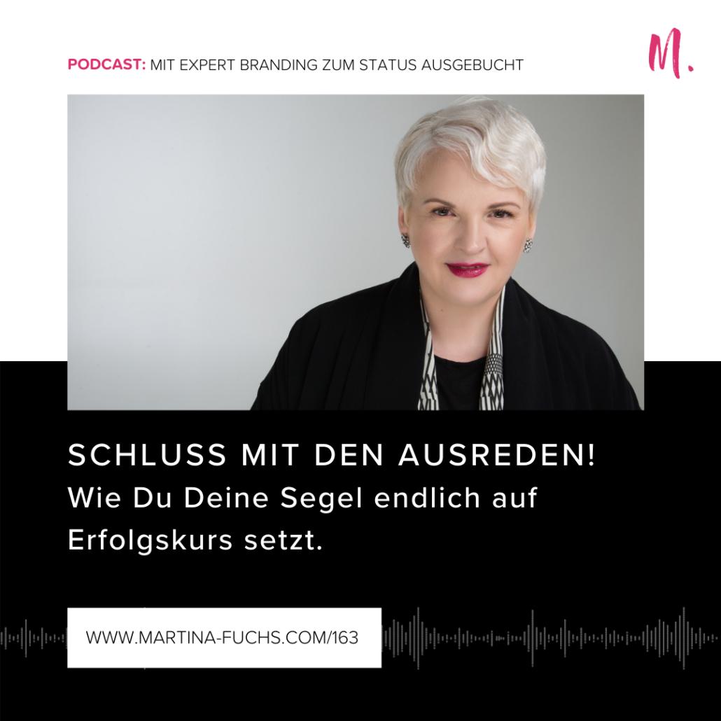 Ausreden, Mindsetfalle, Martina Fuchs