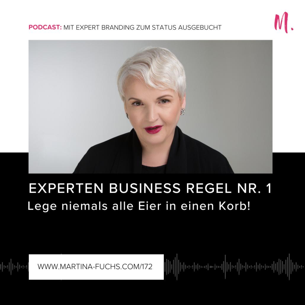 Experten Business, Martina Fuchs, Expertenstatus